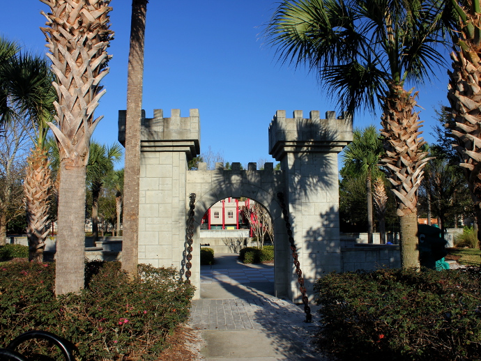 Windsor Hills Castle PlayGround Entrance
