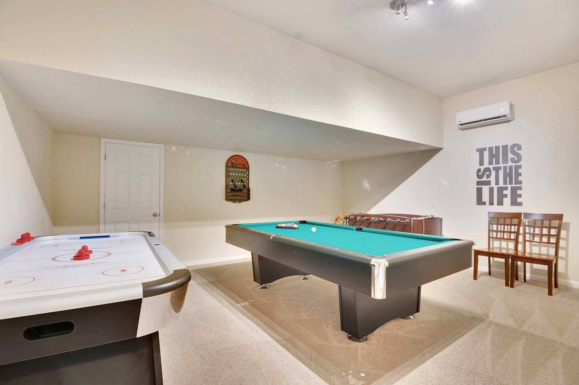 This Vacation Rental Has A Game Room