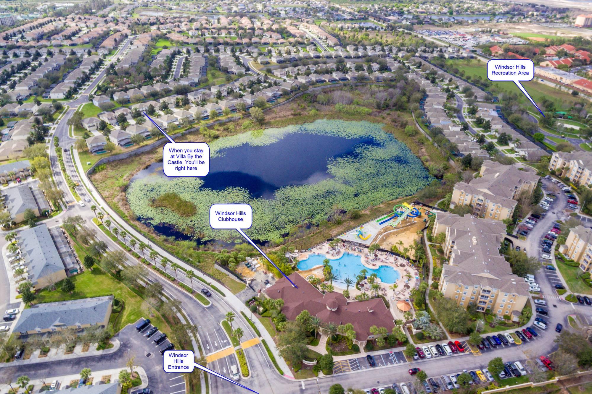 Windsor Hills Resort Arial View