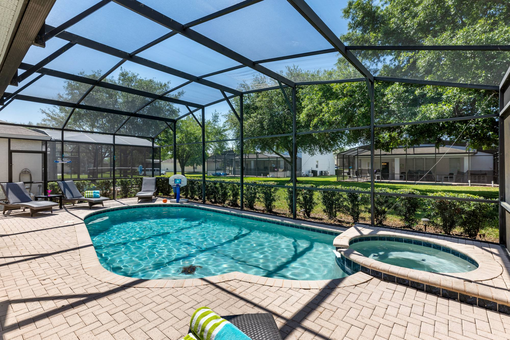 Your Disney Vacation Home's Pool and Hot Tub