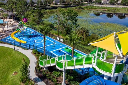 Windsor Hills Resort - Windsor Hills water park  with dueling water slides and splash zone