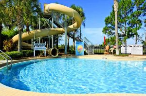 Windsor Hills Has Great Amenities - Like a Pool Slide and Water Park - Free To Use While Staying At This Top Rated Windsor Hills Florida Villas To Rent By Owner